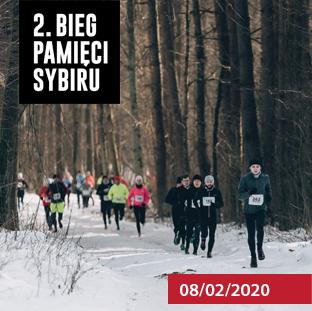 2. Bieg Pamięci Sybiru - 08-02-2020