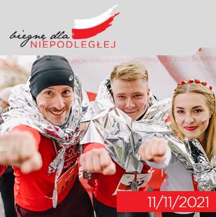 Biegnę dla Niepodległej - 11-11-2020