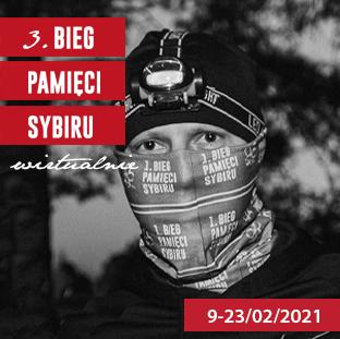 3. Bieg Pamięci Sybiru - 09-02-2021