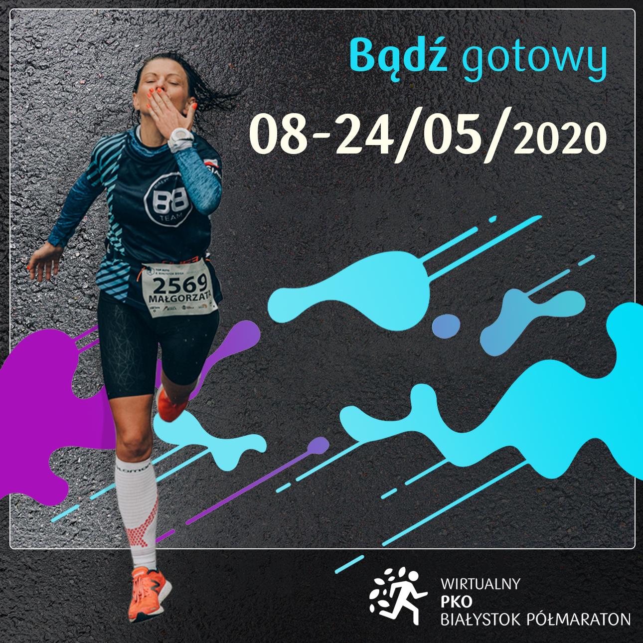Wirtualny PKO Białystok Półmaraton - 08-05-2020